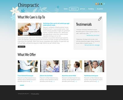 Chiropractic Website Templates by Daniel C. Adams