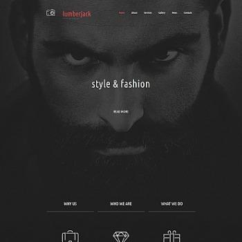 Model portfolio Website Builder | Model portfolio Templates