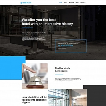 Hotels Html Template 59302 Image