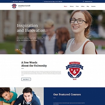 Academic website builder academic templates motocms template 63784 pronofoot35fo Image collections