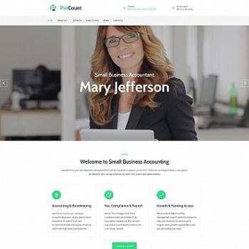 Beratung Website erstellen | Beratung Vorlagen | MotoCMS