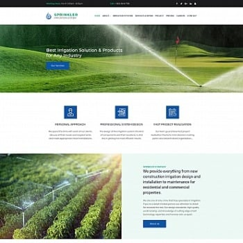 Create Agriculture Website | Agriculture Templates | MotoCMS