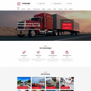 Logistics Website Builder | Logistics Templates