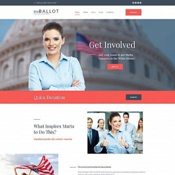Create Politics Website Politics Templates MotoCMS - Political website templates