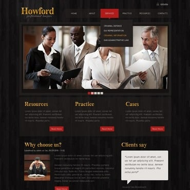 Law Agency Turnkey Website 2.0 35108