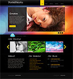 Art & Photography Turnkey Websites 2.0 Template 35109