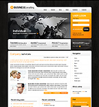Web Hosting Turnkey Websites 2.0 Template 35112