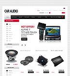 Cars ZenCart  Template 35148