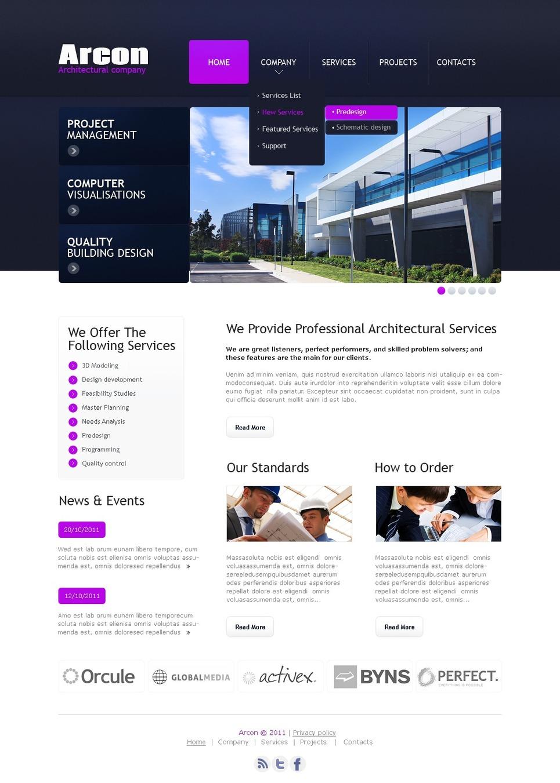 Template siti web per un sito di architettura for Siti web di home plan