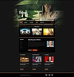 Art & Photography Flash CMS  Template 35209