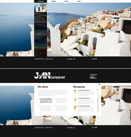 ADOBE Photoshop Template 35211 Home Page Screenshot