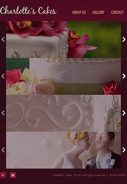ADOBE Photoshop Template 35213 Home Page Screenshot