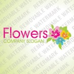 Flowers Logo  Template 35218