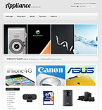 Electronics osCommerce  Template 35278