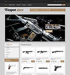 Military osCommerce  Template 35281