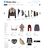 Fashion osCommerce  Template 35282