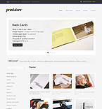 Art & Photography osCommerce  Template 35283
