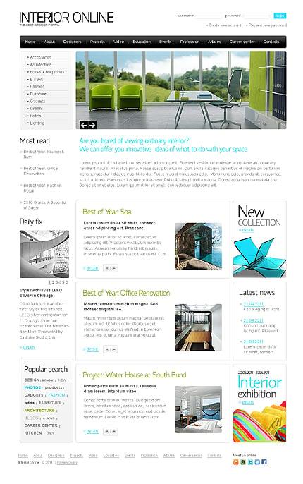 PSD макет сайта №35290