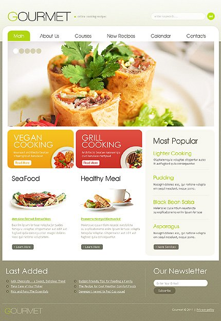 ADOBE Photoshop Template 35296 Home Page Screenshot