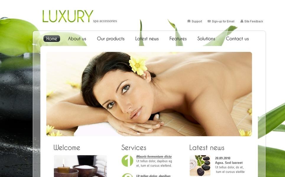 PSD Vorlage für Schönheitssalon  New Screenshots BIG