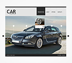 Cars Flash CMS  Template 35305