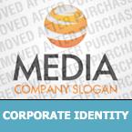 Media Corporate Identity Template 35336