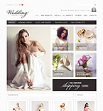 Wedding ZenCart  Template 35351