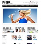 Art & Photography ZenCart  Template 35352