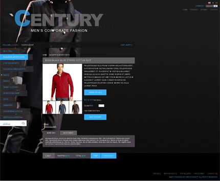 ADOBE Photoshop Template 35384 Home Page Screenshot