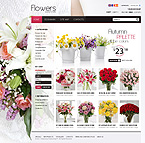 Flowers PrestaShop Template 35385