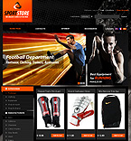 Sport PrestaShop Template 35387