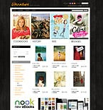 Books PrestaShop Template 35392