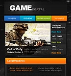 Games Facebook  Template 35393