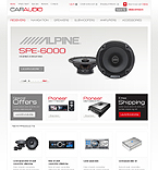 Cars osCommerce  Template 35398