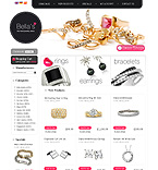 Jewelry osCommerce  Template 35400