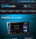 Cars Facebook Flash  Template 35451