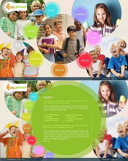 SWiSH Template 35456 Main Page Screenshot