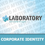 Science Corporate Identity Template 35479