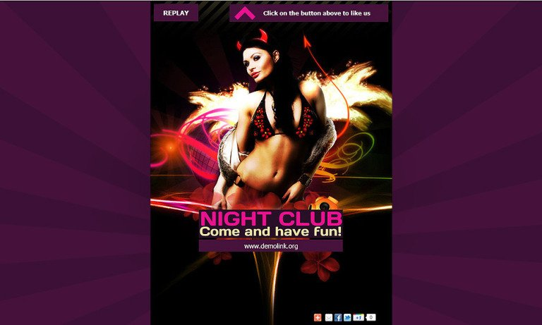 Night Club Facebook Template New Screenshots BIG