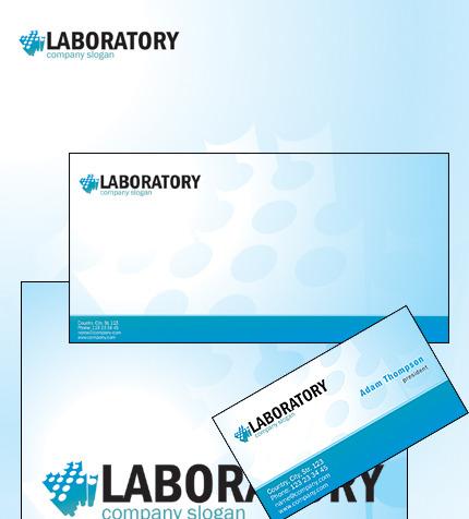 Plantilla de Identidad Corporativa #35479 para Sitio de Laboratorios ...