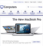 Computers Facebook Flash  Template 35536