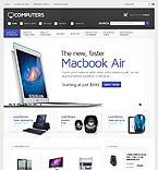 Computers osCommerce  Template 35610