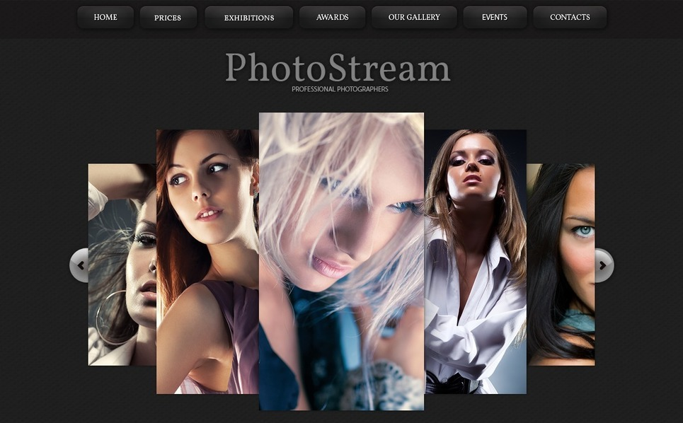 Modèle De Galerie Photo  pour site de studio de photographie New Screenshots BIG