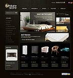 Furniture osCommerce  Template 35647