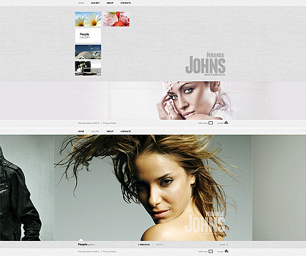 ADOBE Photoshop Template 35649 Home Page Screenshot