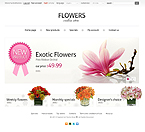 Flowers PrestaShop Template 35653