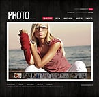 Art & Photography VirtueMart  Template 35687