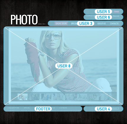 ADOBE Photoshop Template 35687 Home Page Screenshot