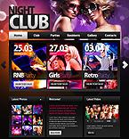 Night Club PSD  Template 35732