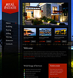 Real Estate PSD  Template 35733